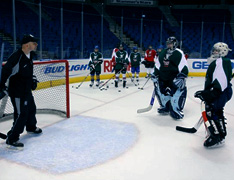 Vic Marconi Coaches Youth Ice Hockey Goalies