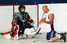Vic Marconi Goalie Clinic